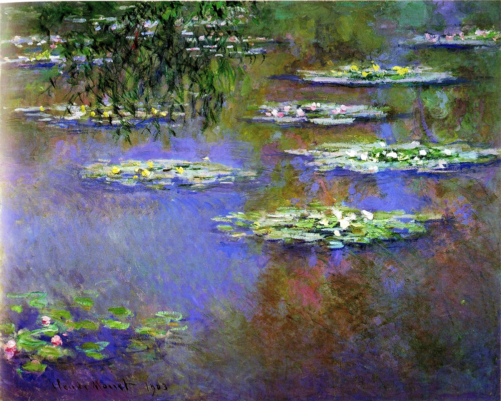 Water Lilies 1903 Dayton Art Institute, Ohio