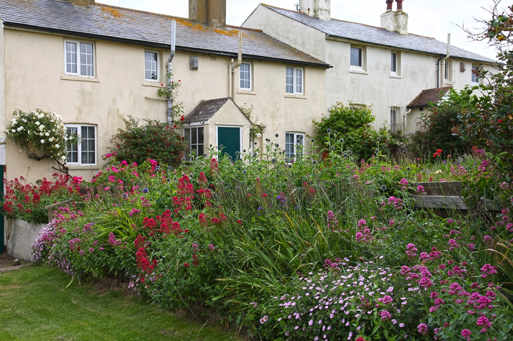The English vernacular and the English cottage garden. So much of our culture is private not public